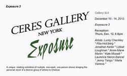 Ceres Gallery--Exposure, Kate Missett, Dec. 2013