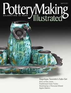 Pottery Making Illustrated, September/October 2013