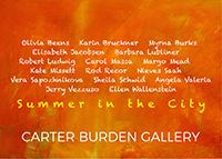 Summer in the City: Group Exhibition, Carter Burden Gallery, Kate Missett, June 29, 2017